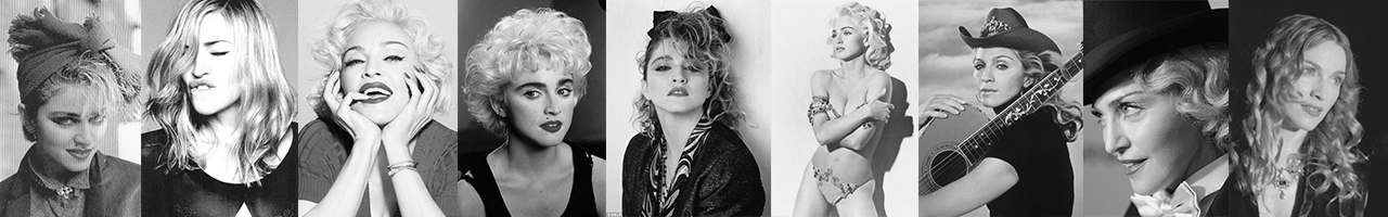Madonna Postcards