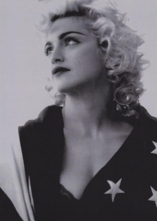 Fotokaarten.nl Madonna 1990 Rock the Vote