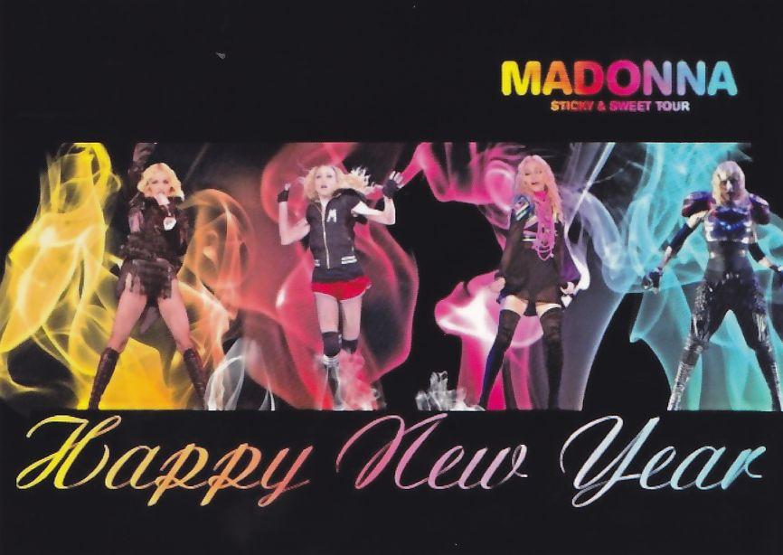 Fotokaarten.nl Madonna Happy New Year