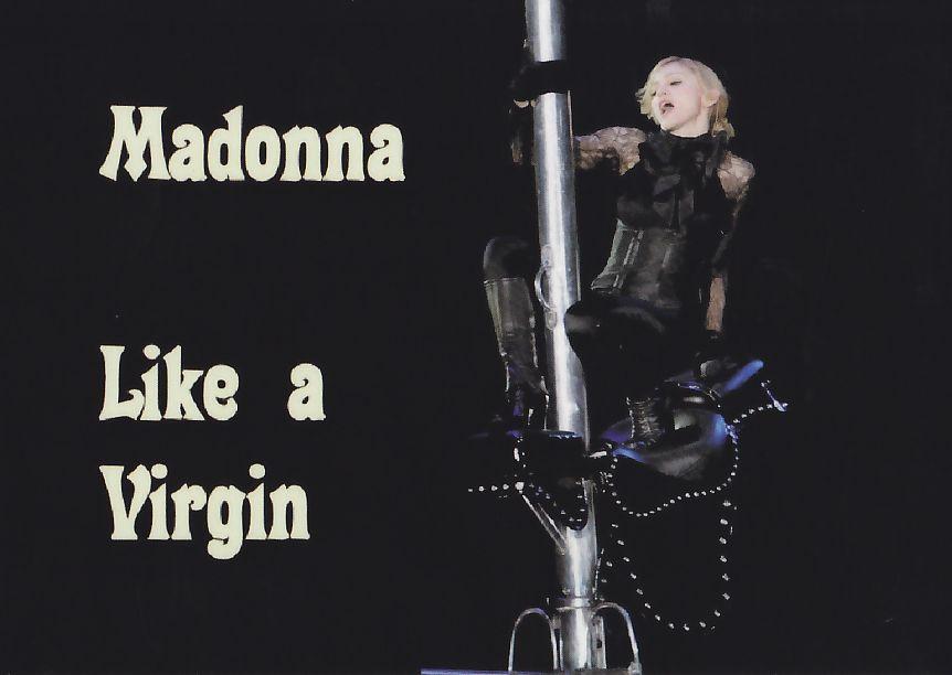 Madonna Like a Virgin Confession tour 2006